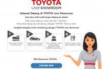 Showroom Online Mobil Toyota